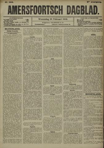 Amersfoortsch Dagblad 1908-02-26