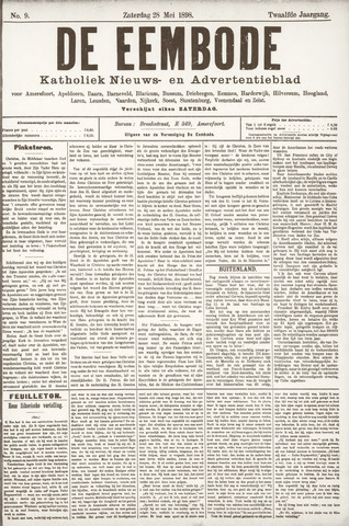 De Eembode 1898-05-28