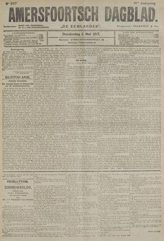 Amersfoortsch Dagblad / De Eemlander 1917-05-03