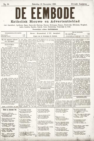 De Eembode 1893-12-23