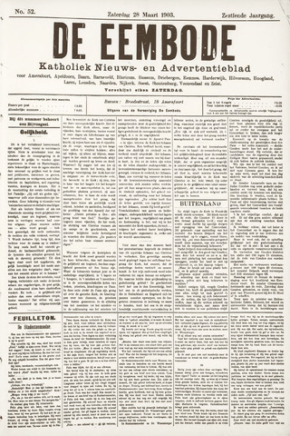 De Eembode 1903-03-28