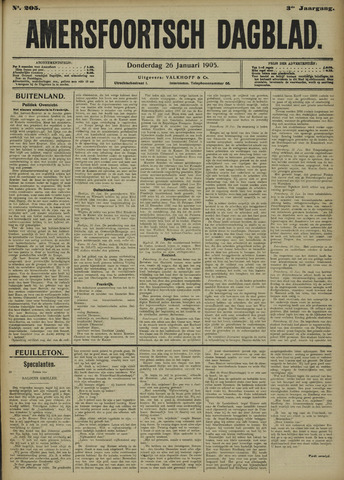Amersfoortsch Dagblad 1905-01-26