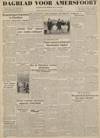 Dagblad voor Amersfoort 1946-11-12