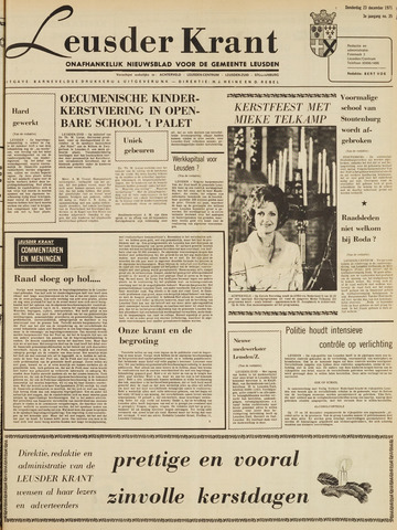 Leusder Krant 1971-12-23