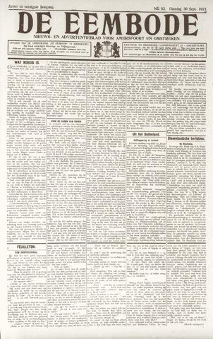 De Eembode 1913-09-30
