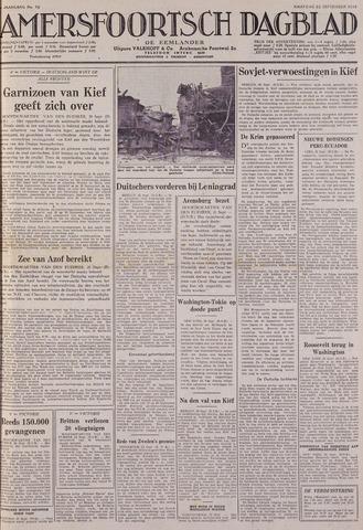 Amersfoortsch Dagblad / De Eemlander 1941-09-22