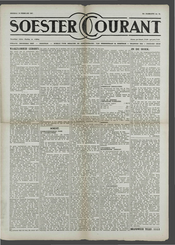 Soester Courant 1957-02-19