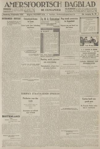 Amersfoortsch Dagblad / De Eemlander 1930-09-18