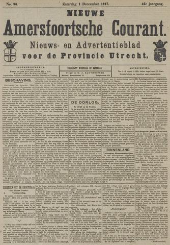 Nieuwe Amersfoortsche Courant 1917-12-01