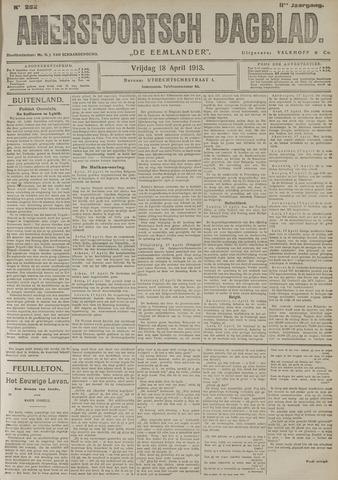 Amersfoortsch Dagblad / De Eemlander 1913-04-18