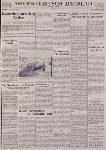 Amersfoortsch Dagblad / De Eemlander 1942-01-29