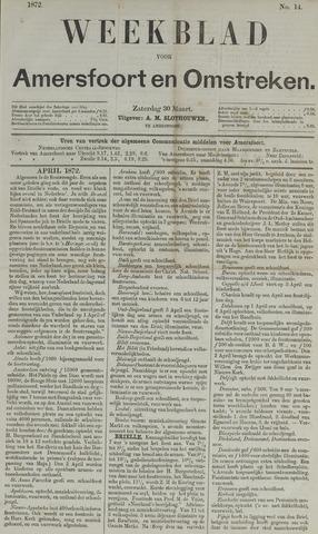 Weekblad voor Amersfoort en Omstreken 1872-03-30