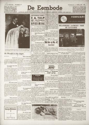 De Eembode 1938-02-08