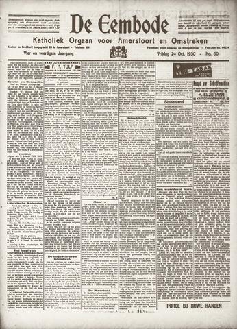 De Eembode 1930-10-24