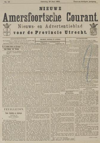 Nieuwe Amersfoortsche Courant 1903-06-20