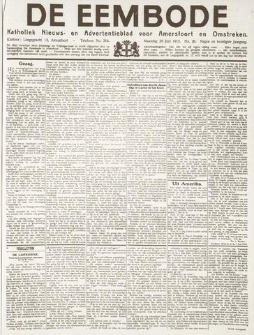De Eembode 1915-06-28
