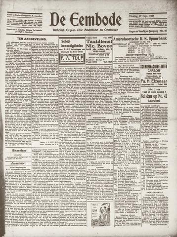 De Eembode 1935-09-17