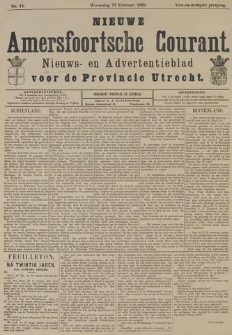 Nieuwe Amersfoortsche Courant 1905-02-22