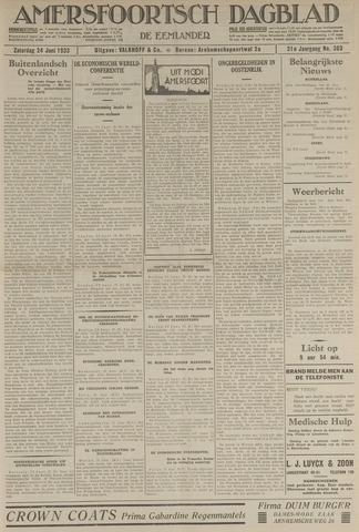 Amersfoortsch Dagblad / De Eemlander 1933-06-24
