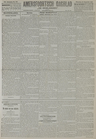 Amersfoortsch Dagblad / De Eemlander 1921-12-12