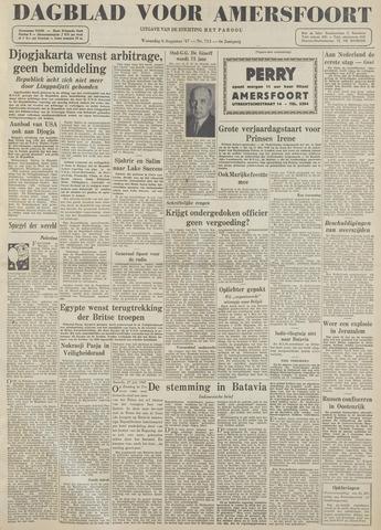 Dagblad voor Amersfoort 1947-08-06