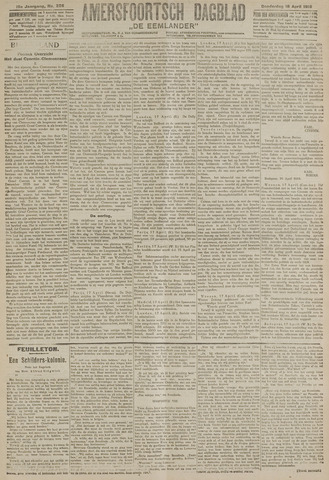 Amersfoortsch Dagblad / De Eemlander 1918-04-18