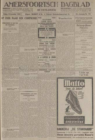 Amersfoortsch Dagblad / De Eemlander 1933-12-15