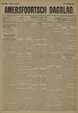 Amersfoortsch Dagblad 1911-06-24