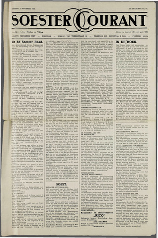 Soester Courant 1952-11-18