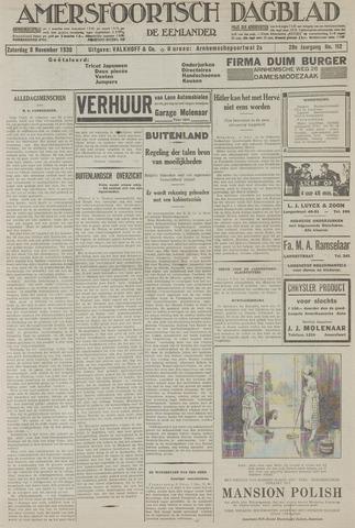 Amersfoortsch Dagblad / De Eemlander 1930-11-08