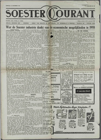 Soester Courant 1957-12-31