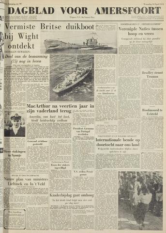 Dagblad voor Amersfoort 1951-04-18