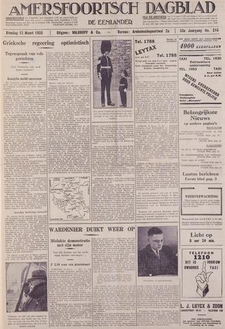 Amersfoortsch Dagblad / De Eemlander 1935-03-12