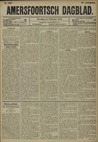 Amersfoortsch Dagblad 1908-02-25