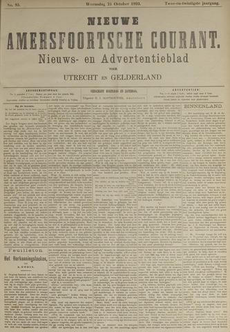 Nieuwe Amersfoortsche Courant 1893-10-25
