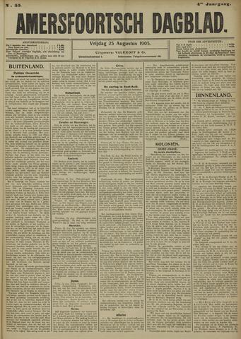 Amersfoortsch Dagblad 1905-08-25