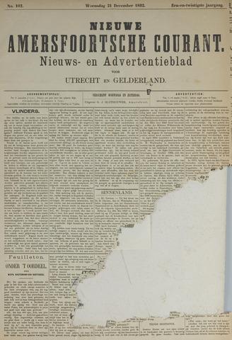 Nieuwe Amersfoortsche Courant 1892-12-21