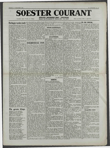Soester Courant 1949-09-30