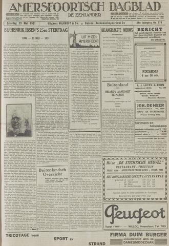 Amersfoortsch Dagblad / De Eemlander 1931-05-23