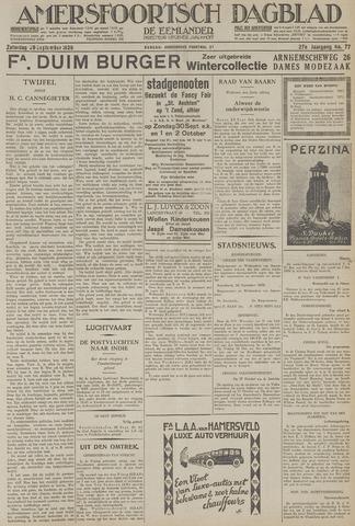 Amersfoortsch Dagblad / De Eemlander 1928-09-29