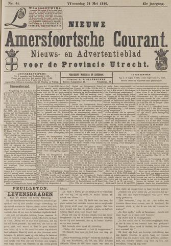 Nieuwe Amersfoortsche Courant 1916-05-31