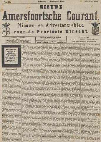 Nieuwe Amersfoortsche Courant 1919-11-01
