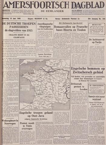 Amersfoortsch Dagblad / De Eemlander 1940-06-13