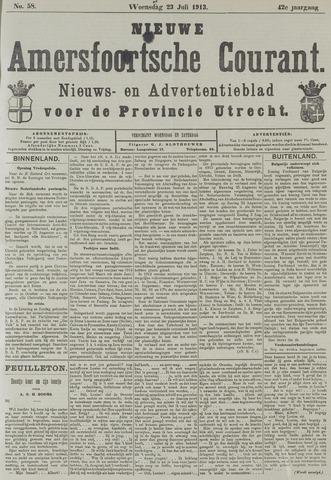 Nieuwe Amersfoortsche Courant 1913-07-23