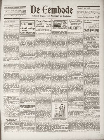 De Eembode 1935-06-07