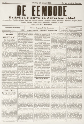 De Eembode 1908-01-25