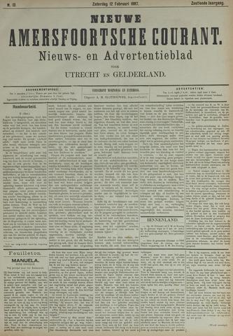 Nieuwe Amersfoortsche Courant 1887-02-12
