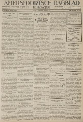 Amersfoortsch Dagblad / De Eemlander 1928-02-20