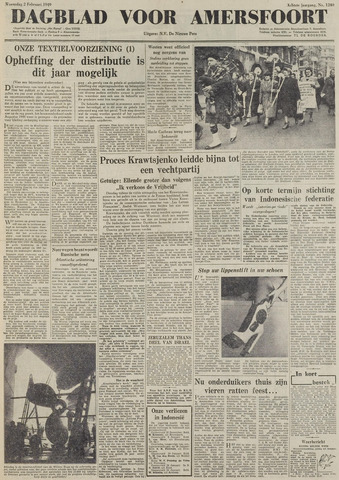 Dagblad voor Amersfoort 1949-02-02