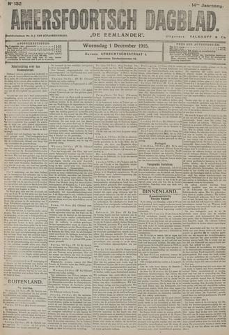 Amersfoortsch Dagblad / De Eemlander 1915-12-01